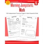 Scholastic Morning Jumpstarts - Math, Grade 5