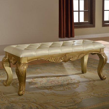 Meridian Furniture Inc Lavish Bedroom Bench