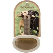 Nandog Pet Brush-Oval Curve Needle Brown