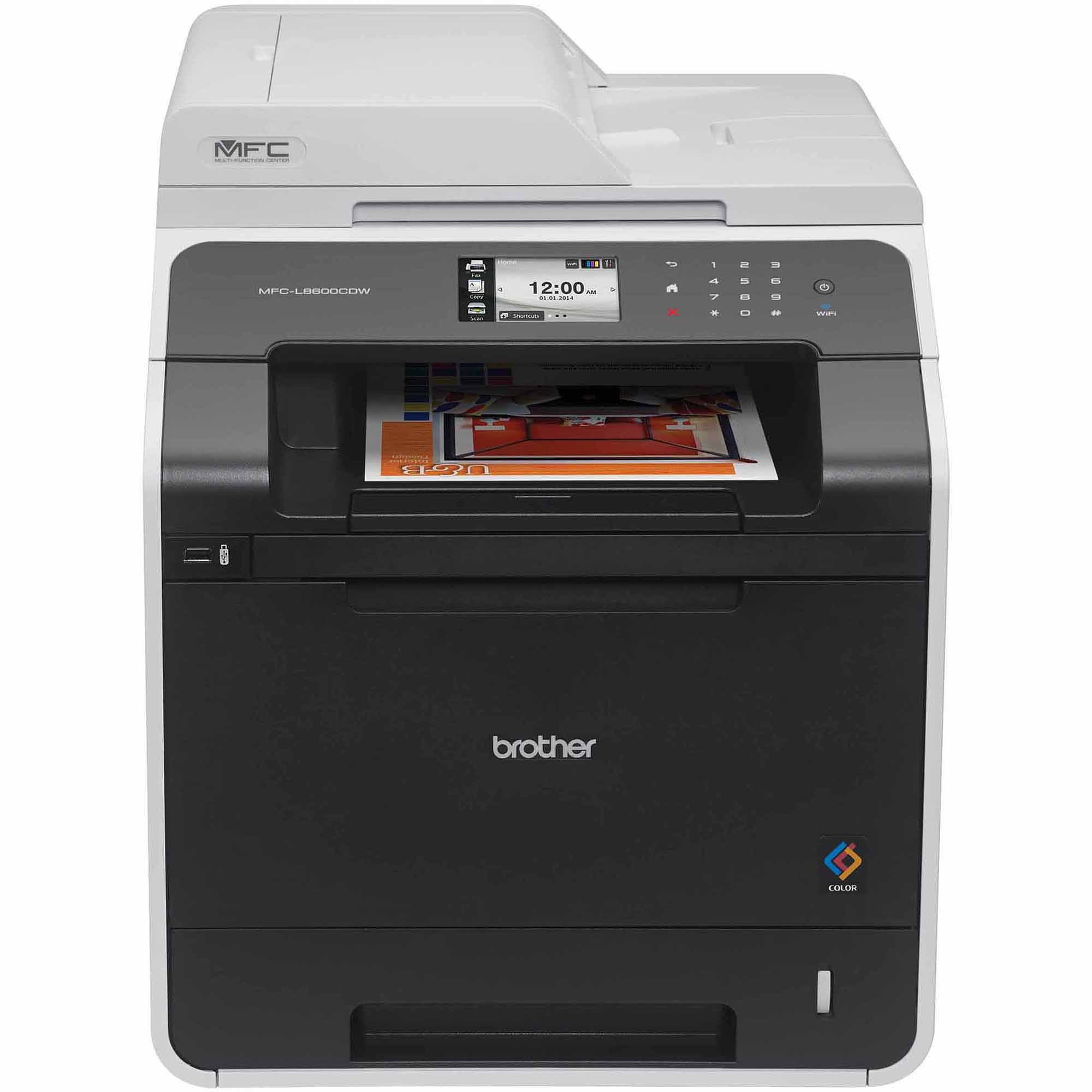 Brother MFC-L8600CDW Color Laser All-in-One Printer/Copier/Scanner/Fax Machine