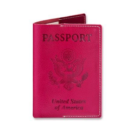 a174600064bf SwissElite Genuine Leather Passport Cover - Holder - for Men & Women -  Passport Case