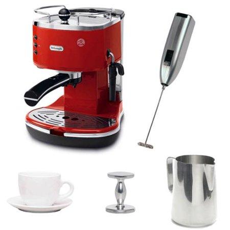 DeLonghi ECO310R Espresso Maker with Espresso Tamper ...