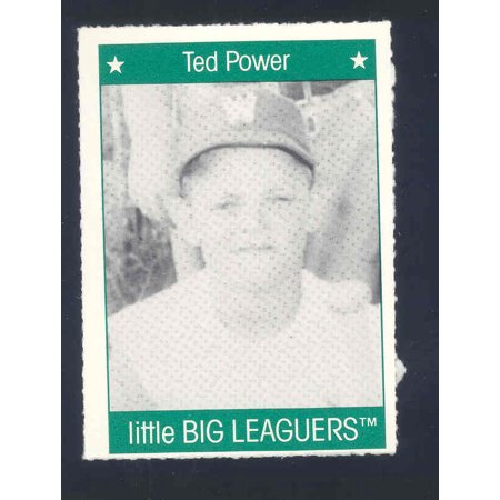 1991 More Little Big Leaguers Ted Power Pirates Little League Photo