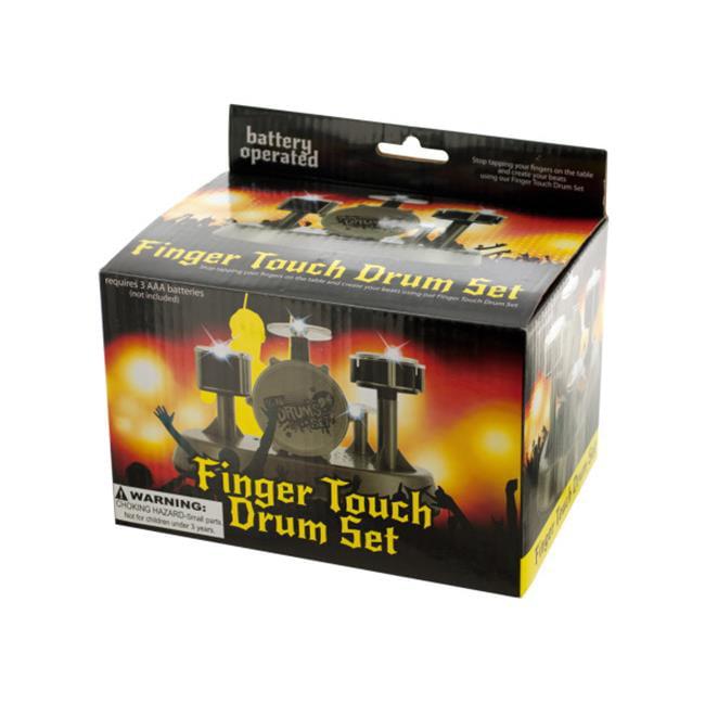 Bulk Buys OC870-3 Finger Touch Drum Set