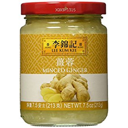 Lee Kum Kee Ginger Minced 7.5 OZ - Ginger Spice Halloween