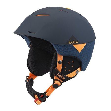 Bolle Synergy All-Mountain Ski Helmet - Soft Navy & Orange (54-58 cm)
