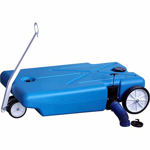 Barker 32-Gallon 4-Wheeler Tote Along (27844) RV Portable Waste Tank, Choose a Capacity