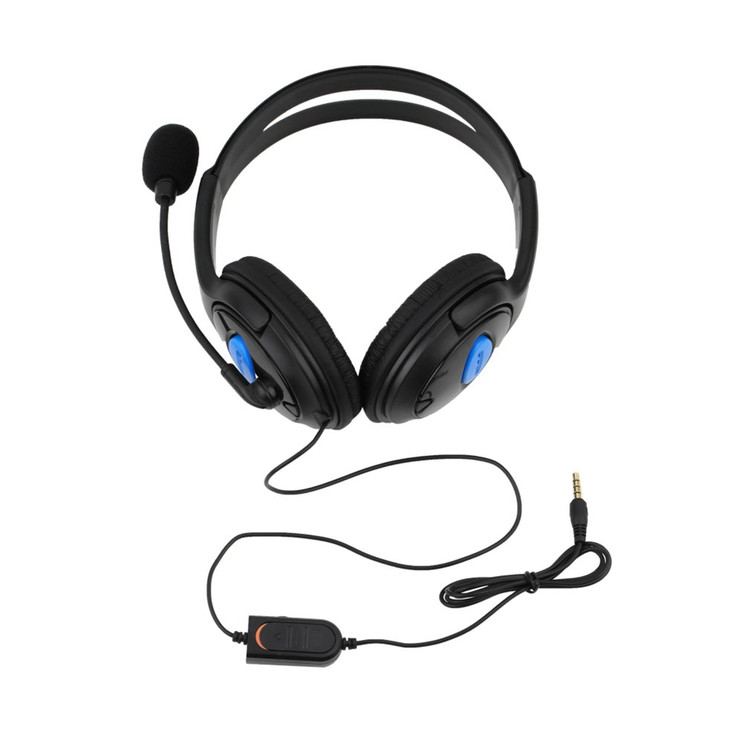 Wired Gaming Headset Headphones with Microphone for Sony PS4 PlayStation 4 HS