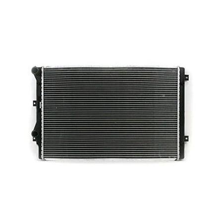 Radiator - Pacific Best Inc For/Fit 13237 09-12 Volkswagen VW Passat CC 09-10 Passat 10-13 GTI 11-17 Jetta Sedan Automatic 4cy 2.0L Plastic Tank Aluminum