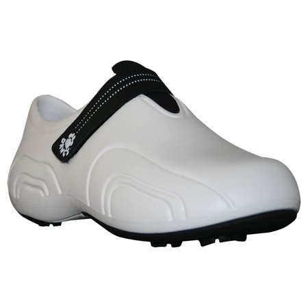 USA Dawgs WUG6342 DAWGS Womens Ultralite Golf Shoes - White-Black - Size 7