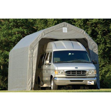 Shelterlogic 12' x 28' x 9' Barn Style Carport -