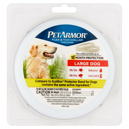 PetArmor Flea & Tick Prevention Collars for Large Dogs, 12 Months Protection ()
