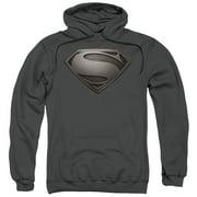 Superman Mos Desaturated Mens Pullover Hoodie