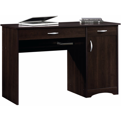 Sauder Beginnings Desk, Cinnamon Cherry
