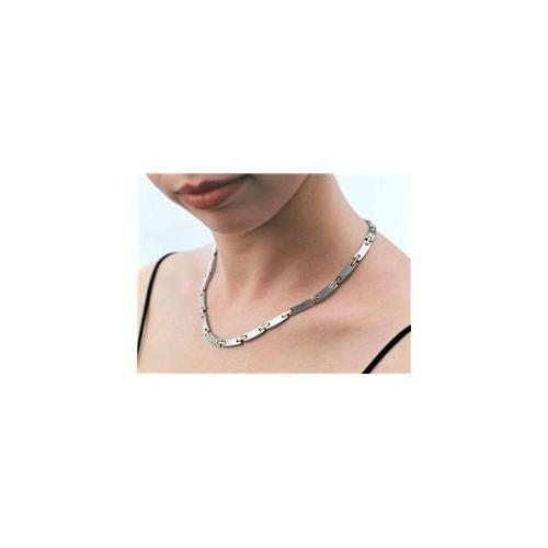 Serenity2000 10044 Stainless Steel Magnetic Necklace- Serenity 18 inch