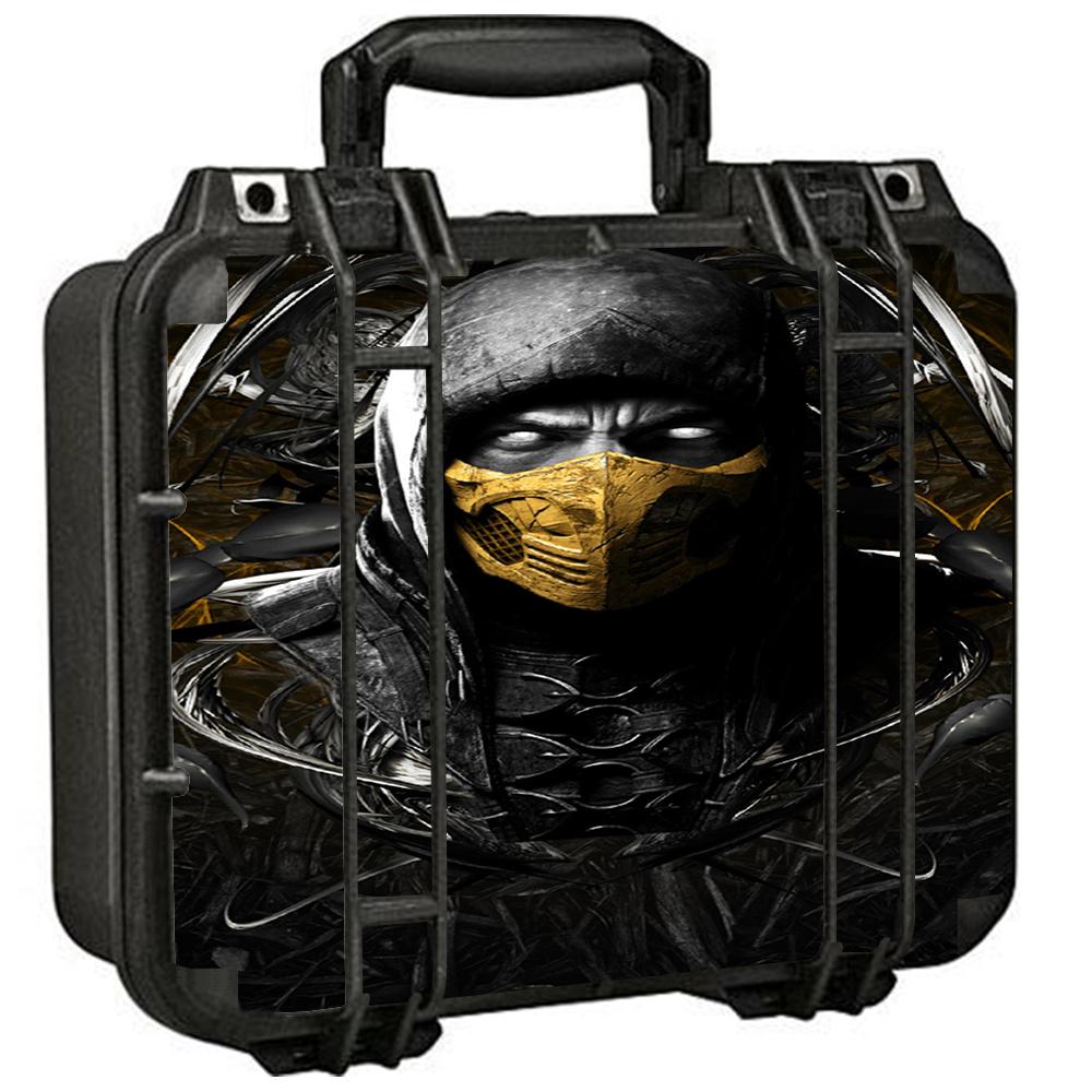 Skins Decals For Pelican 1400 Case / Scorpion Ninja Masked