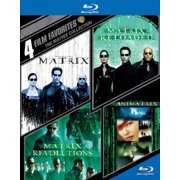 4 Film Favorites: The Matrix Collection The Matrix   The Matrix Reloaded   The Matrix Revolutions   The Animatrix... by WARNER HOME VIDEO