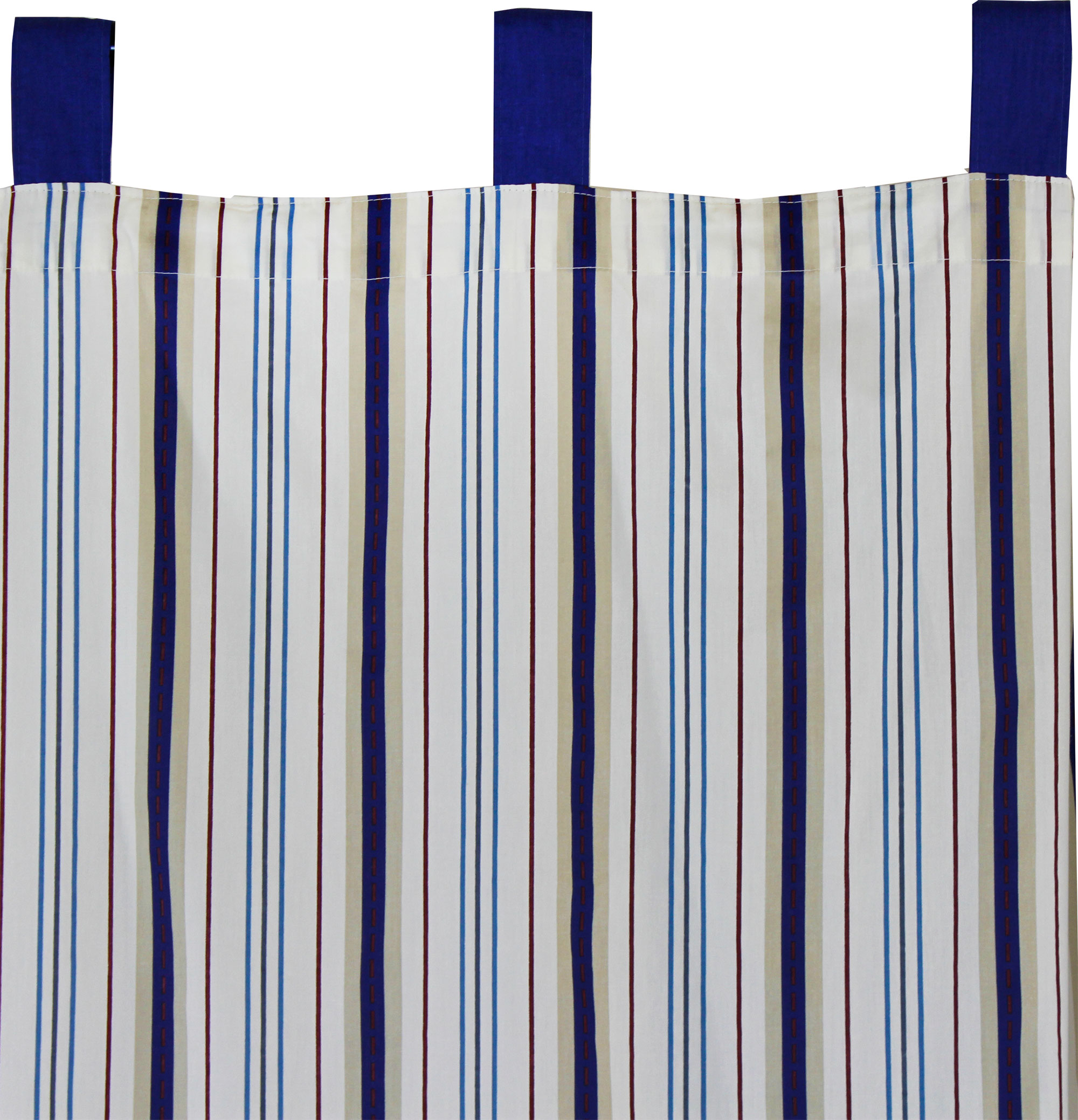 2pc Disney Stripes Long Drapes Geometric Curtain Panels