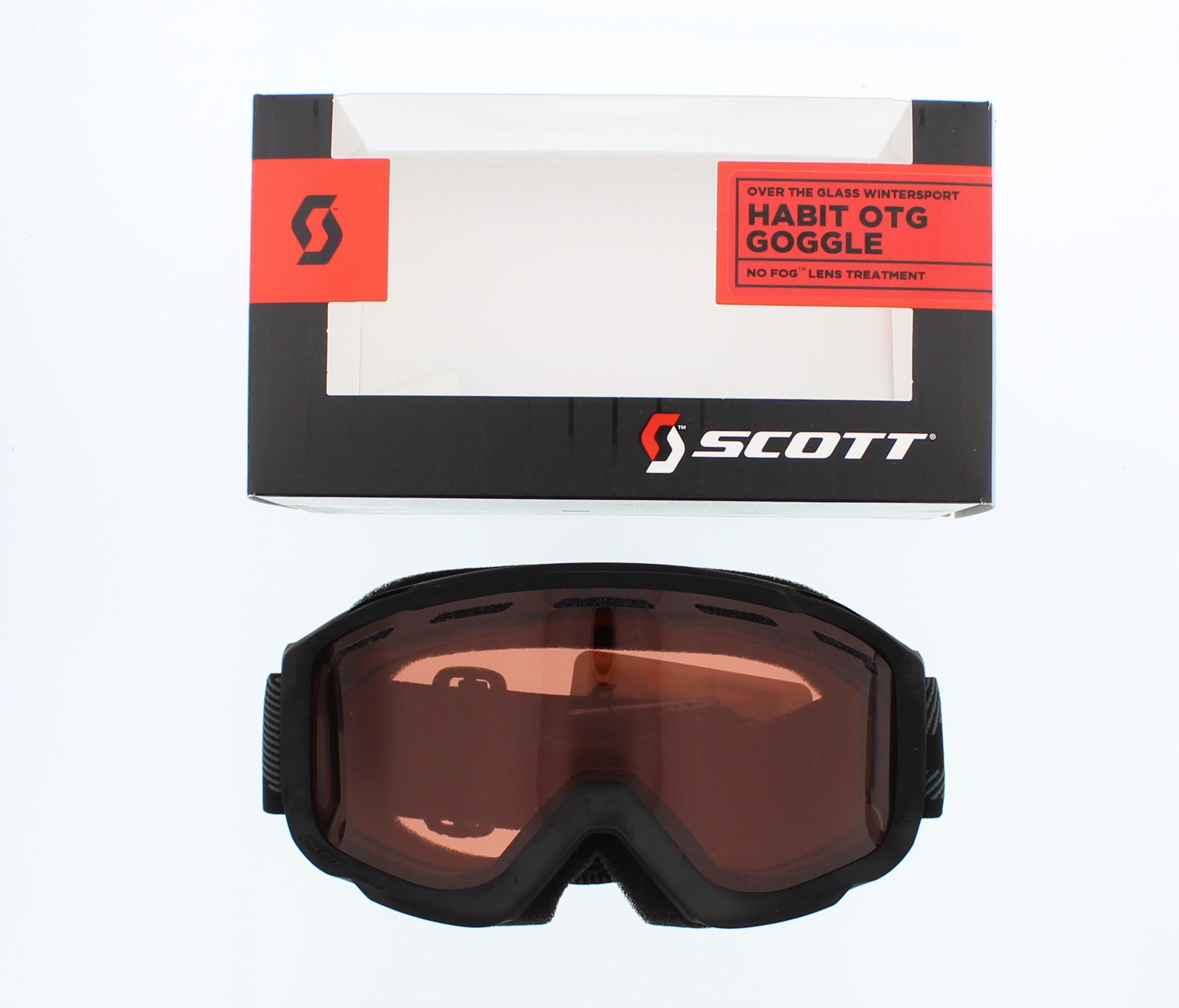 Scott Habit OTG Goggles Mens Black Amplifier by SCOTT