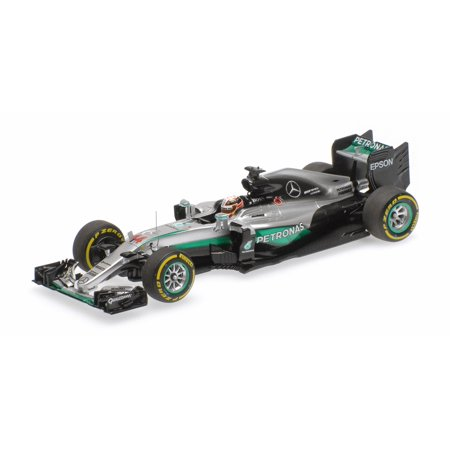 Mercedes AMG Petronas Lewis Hamilton Winner Abu Dhabi GP 2016 Diecast Model in 1:43 Scale by (Hamilton Model Kit)