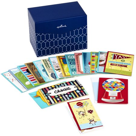 Hallmark all occasion boxed greeting card assortment 20 ct with hallmark all occasion boxed greeting card assortment 20 ct with dividers navy m4hsunfo