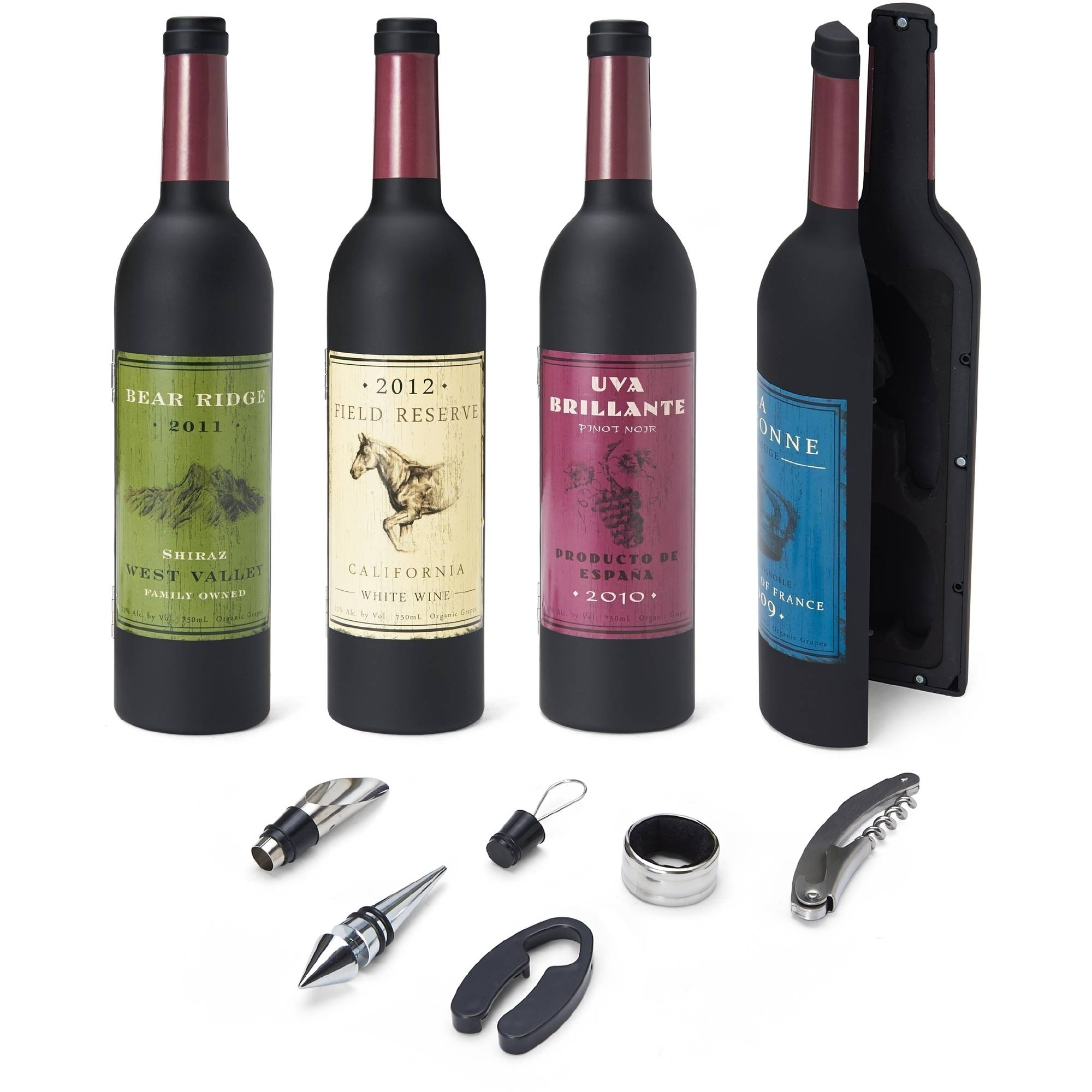 Elements 5-Piece Wine Set in Wine Bottle