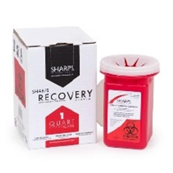 WP000-10100-012 10100-012 10100-012 Container Sharps Mail Back System 1qt Ea Sharps Compliance, Inc