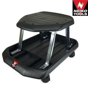 Professional Shop Seat Rolling Stool With Monster - Shop Seating