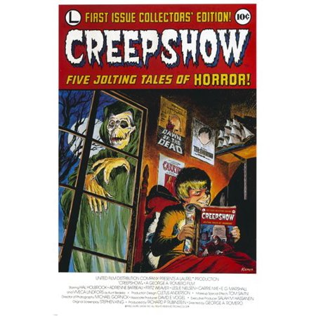 Classic Creepshow Magazine First Edition Poster Scary Skeleton 24X36