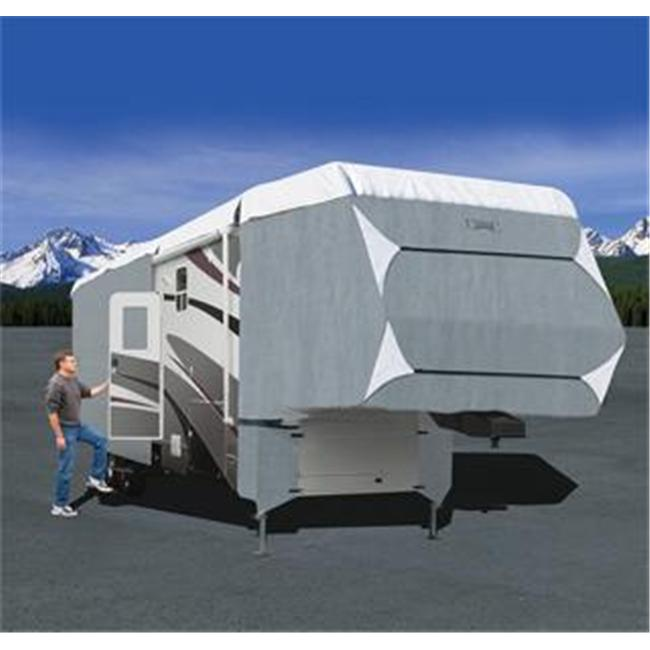 PolyPro III Deluxe 5th Wheel Cover - Grey - Model 6