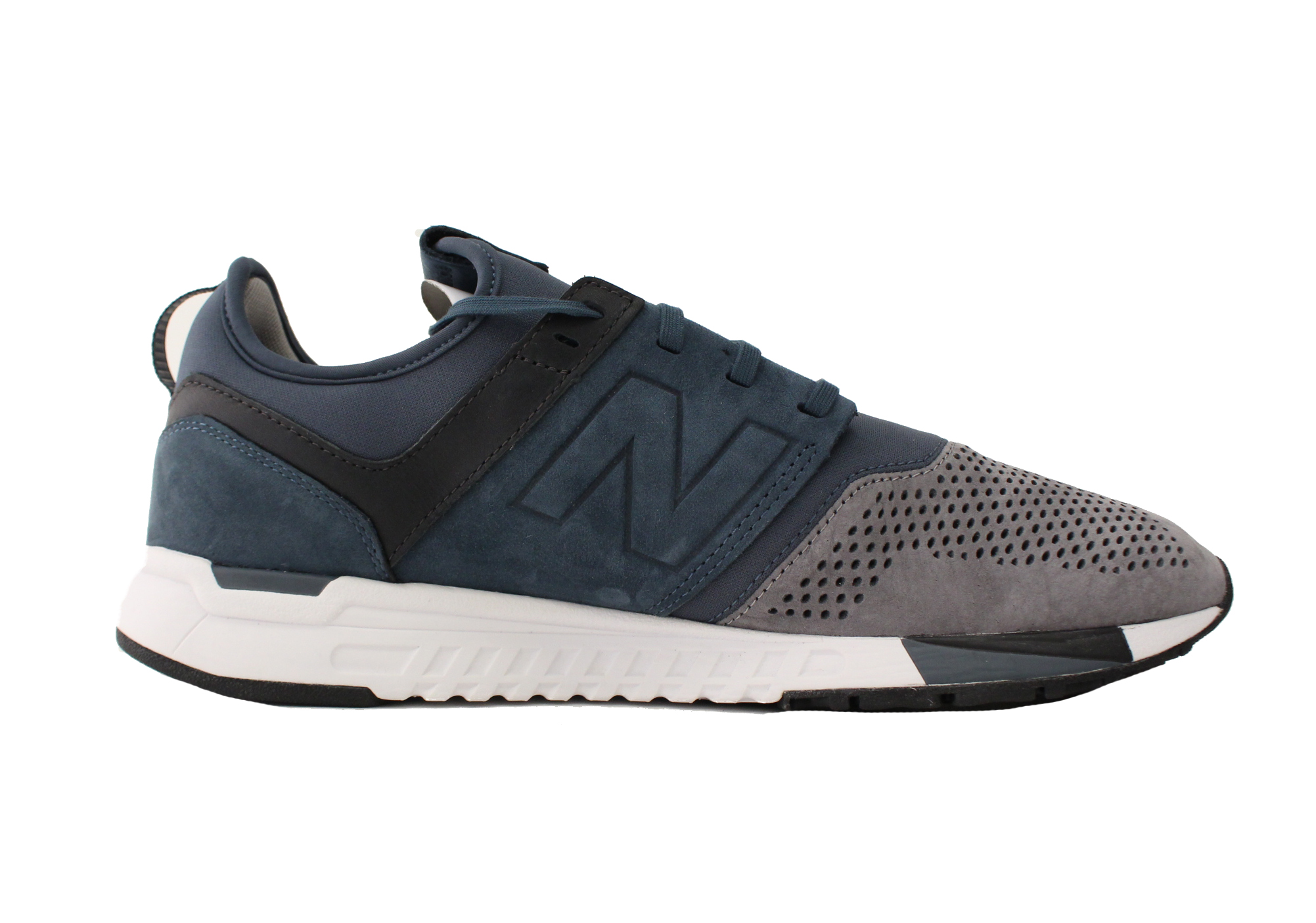 NEW BALANCE 247 LUXE SUEDE SZ 12 ICONS PACK ORION BLUE NAVY GREY MRL247N3