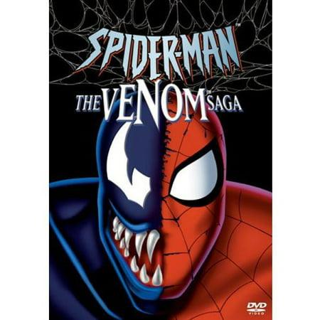 Spider-man: The Venom Saga (DVD) (Spider Man Birth Of Venom Part 3)