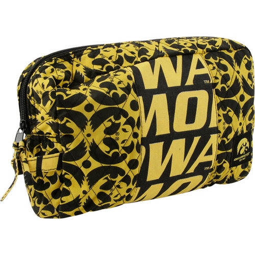 NCAA - Iowa Hawkeyes Fabric Cosmetic Bag
