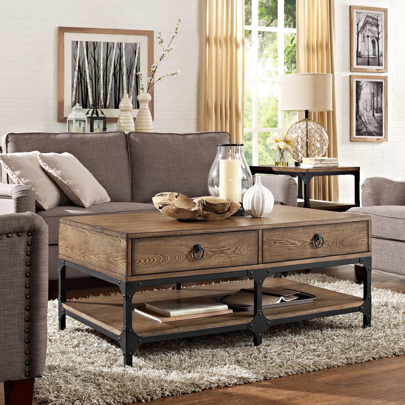 Crosley Furniture Trenton Coffee Table, Coffee