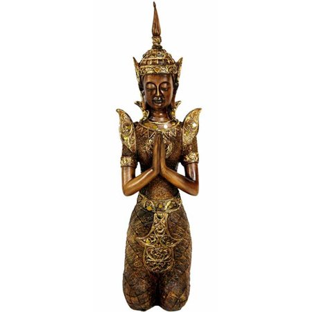 Oriental Furniture Hepenom Thai Angel Figurine (Oriental Angels)