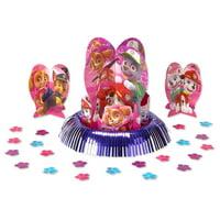 American Greetings Paw Patrol Girl Party Supplies Table Decoraton Kit