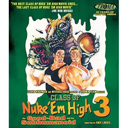 Class of Nuke 'Em High III: The Good, The Bad and the Subhumanoid (Class Of Nuke Em High Blu Ray)