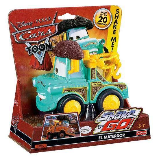 Disney Cars Shake 'N Go El Materdor Shake 'N Go Car