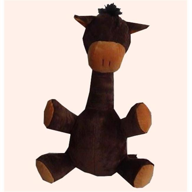 Best Pet Supplies PT25-S Plush and Squeaky Horse Toy - Small