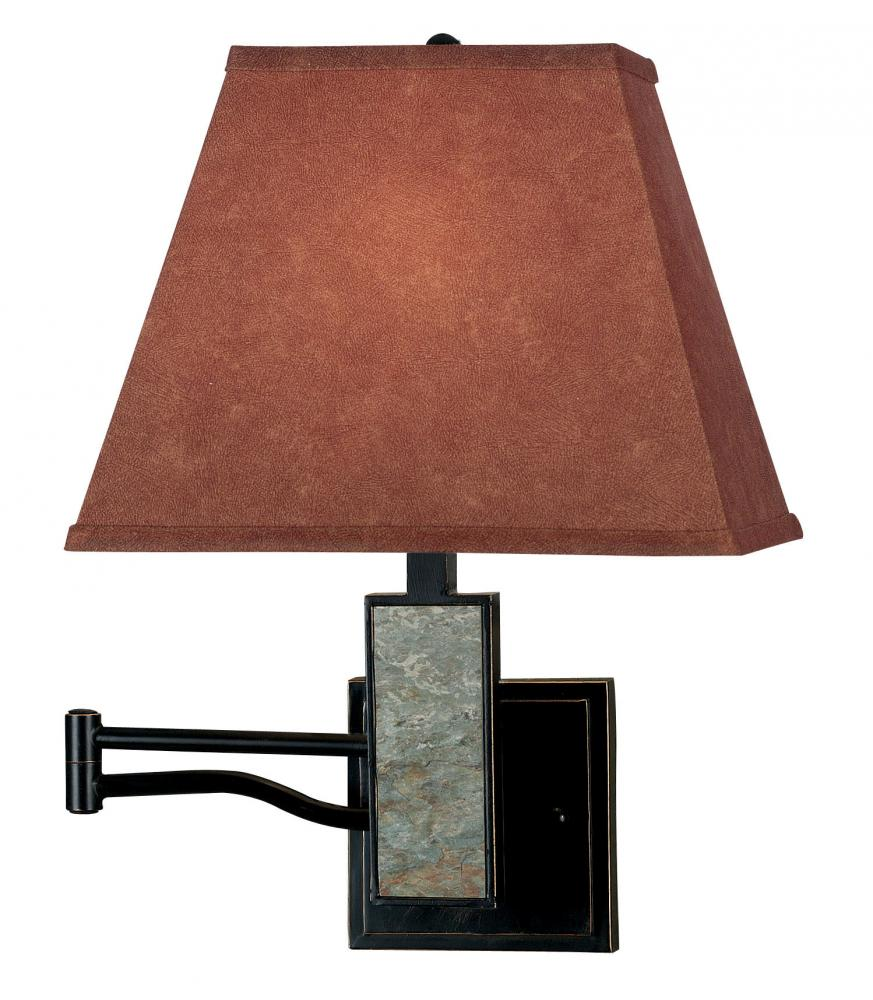 Dakota Wall Swing Arm Lamp by Kenroy Home