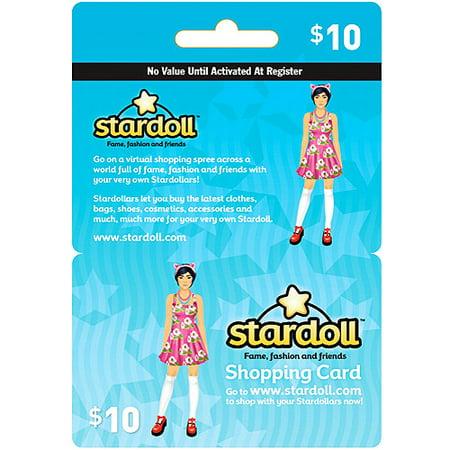Interactive Commicat Stardoll $10 Card