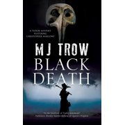 Tudor Mystery Featuring Christopher Marlowe: Black Death (Hardcover)(Large Print)