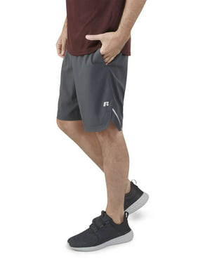 "Russell Big Men's Performance 9"" 2-in-1 Stretch Woven Short with Boxer Liner"