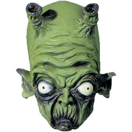 New Alien Mini Monster Adult Halloween Latex Mask Accessory ()
