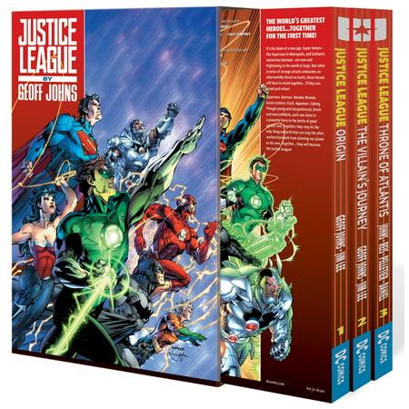 Justice League by Geoff Johns Box Set Vol.