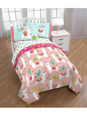 eda6a0f9d6c5b Product Image Limited Too  Llama Love  Twin Comforter and Sheet Set