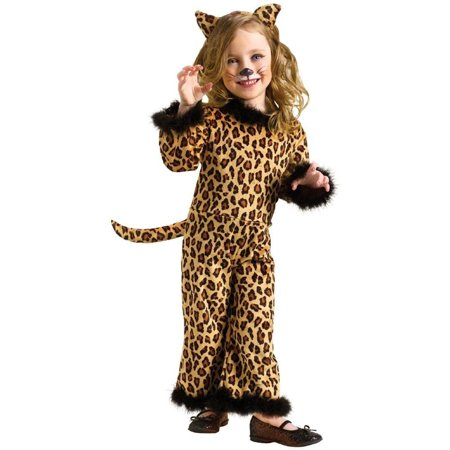 Fun World Pretty Leopard Toddler Costume - Pretty Leopard Child Costume