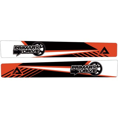 Attack Graphics Turbine Swing Arm Decal Red for Honda CR250R 1997-2007
