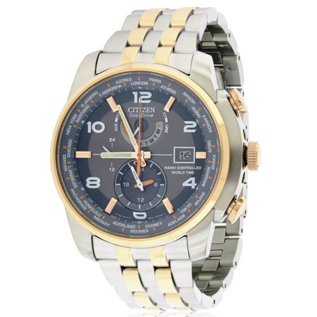 Citizen Eco Drive Chronograph World Time At Mens Watch At9016 56H