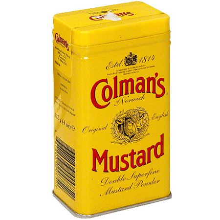 - Colman's Of Norwich Hot Dry Mustard, 4 oz (Pack of 12)